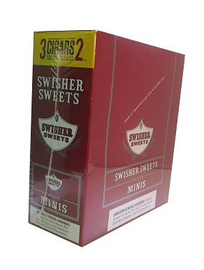 Image of Swisher Sweets Mini Cigarillos Sweet Pouch 3FOR2