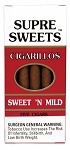 Supre Sweets Cigarillos Sweet N Mild Pack 2 Pack Special