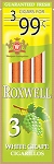 Roxwell Cigarillos Green White Grape 3 for $0.99 Pre-Priced