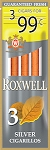 Roxwell Cigarillos Silver 3 for $0.99 Pre-Priced
