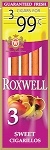 Roxwell Cigarillos Sweet 3 for $0.99 Pre-Priced