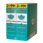 Swisher Sweets Cigarillos Foil Pack Tropical Fusion Pre-Priced