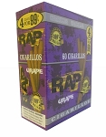 Rap Cigarillos Grape Pouch 15/4 Pre-Priced