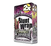Double Platinum Blunt Wraps Grape-A-Licious