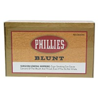 Phillies Blunt Cigars Natural Box
