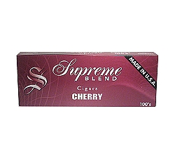 Supreme Blend Filtered Cigars Cherry