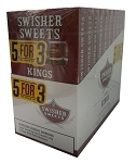 Swisher Sweets King Cigars 5FOR3 Pack