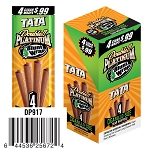 Double Platinum Blunt Wraps Tata Pre-Priced 4 for $0.99