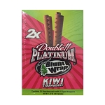 Double Platinum Blunt Wraps Kiwi Strawberry