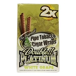 Double Platinum Blunt Wraps White Grape