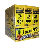 Good Times Cigarillos Pineapple Packs 30/3 Pre-Priced