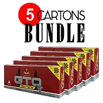 GTO Filtered Cigars Full Flavor - BUNDLE 5