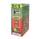 Hemp Zone Cigar Wraps Kiwi Strawberry