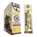 High Hemp Organic Wraps 25 Ct - GrapeApe