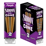 Show Blunt Cone Cigar Purple