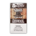 Show BK Natural Leaf Cigars Natural - 8x5 Pack