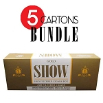 SHOW Filtered Cigars Gold BUNDLE 5