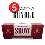 SHOW Filtered Cigars Sweet Classic BUNDLE 5