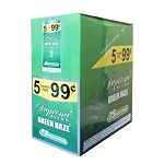 Supreme Blend Cigarillos Green Haze 4 for $0.99