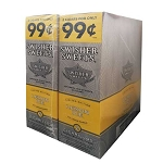 Swisher Sweets Cigarillos Foil Lemon Ice Pre-Priced