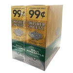 Swisher Sweets Cigarillos Foil Maui Pineapple Pre-Priced