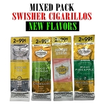 Mixed Pack - Swisher Sweets Cigarillos NEW Flavors