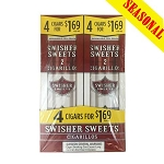 Swisher Sweets Cigarillos Foil Pack Regular 4x$1.69 (Seasonal Pack)