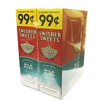 Swisher Sweets Cigarillos Foil Pack Wild Rush Pre-Priced