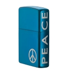 Zippo Lighter Peace On The Side