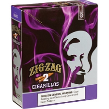 Zig Zag Cigarillos Grape Foil 15/3 Pre-Priced
