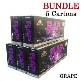 Rap Filtered Cigars Grape BUNDLE 5