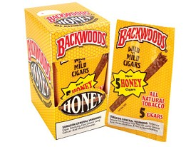 Backwoods Honey Cigars 24Ct
