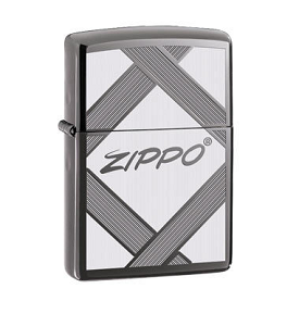 Zippo Lighter Unparalleled Tradition Black Ice Finish
