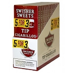 Swisher Sweets Tip Cigarillos Pack 5FOR3 10/5