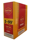 Pom Pom Cigarillos Sweet Foil Pre-Priced