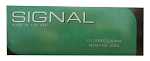 Signal Filtered Cigars Menthol