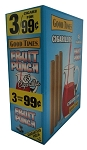 Good Times Cigarillos Fruit Punch Pouch 15/3 Pre-Priced