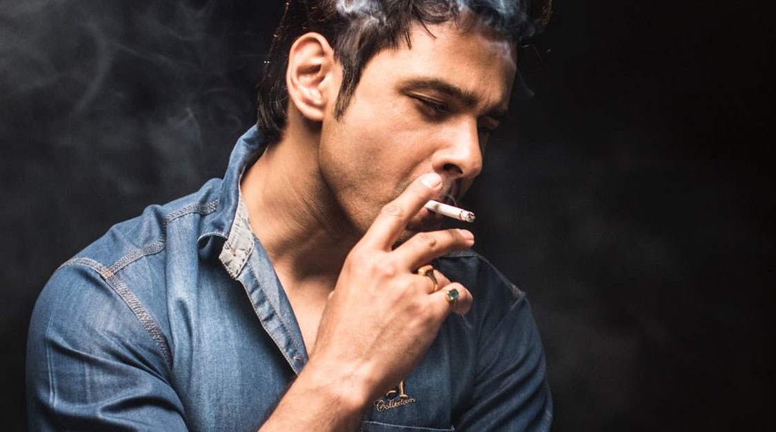 Smoking helps to depressive problems
