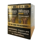 Good Times Sweet Woods Cigars 2x99 - Golden Honey 2 Pack
