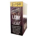 Swisher Sweets LEAF Cigars - Sweet Aromatic Pre-Priced