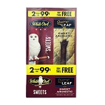 White Owl Cigarillos Combo Sweets Pre-Priced + 1 Game Leaf Sweet Aromatic