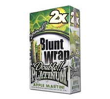 Double Platinum Blunt Wraps Apple Martini
