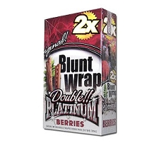 Double Platinum Blunt Wraps Berries