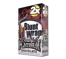 Double Platinum Blunt Wraps Chocolate