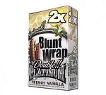 Double Platinum Blunt Wraps French Vanilla