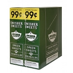 Swisher Sweets Cigarillos Foil Pack Green Sweets Pre-Priced