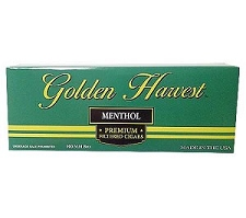 Golden Harvest Filtered Cigars Menthol