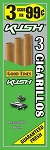Good Times Cigarillos Kush Pouch 15/3 Pre-Priced