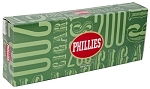 Phillies Filtered Cigars Menthol