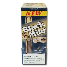 Black & Mild Royale Wood Tip Cigars Pack